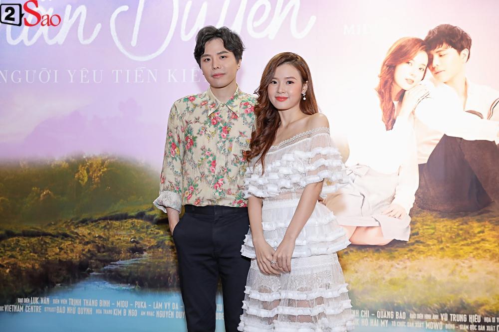 Lần đầu đóng cặp cùng nhau, Midu và Trịnh Thăng Bình lại không hề có cảnh thân mật-6