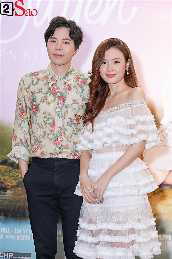 Lần đầu đóng cặp cùng nhau, Midu và Trịnh Thăng Bình lại không hề có cảnh thân mật-7