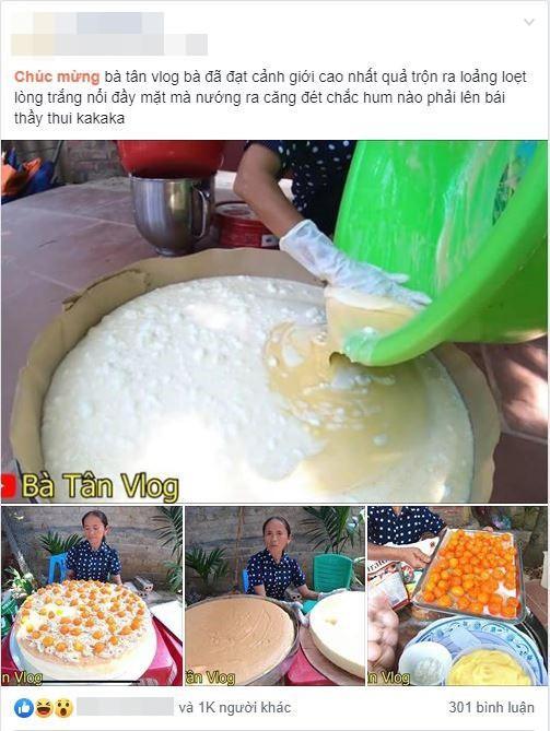 Con trai bà Tân Vlog lên tiếng khi bị tố gian dối trong clip làm bánh bông lan-1