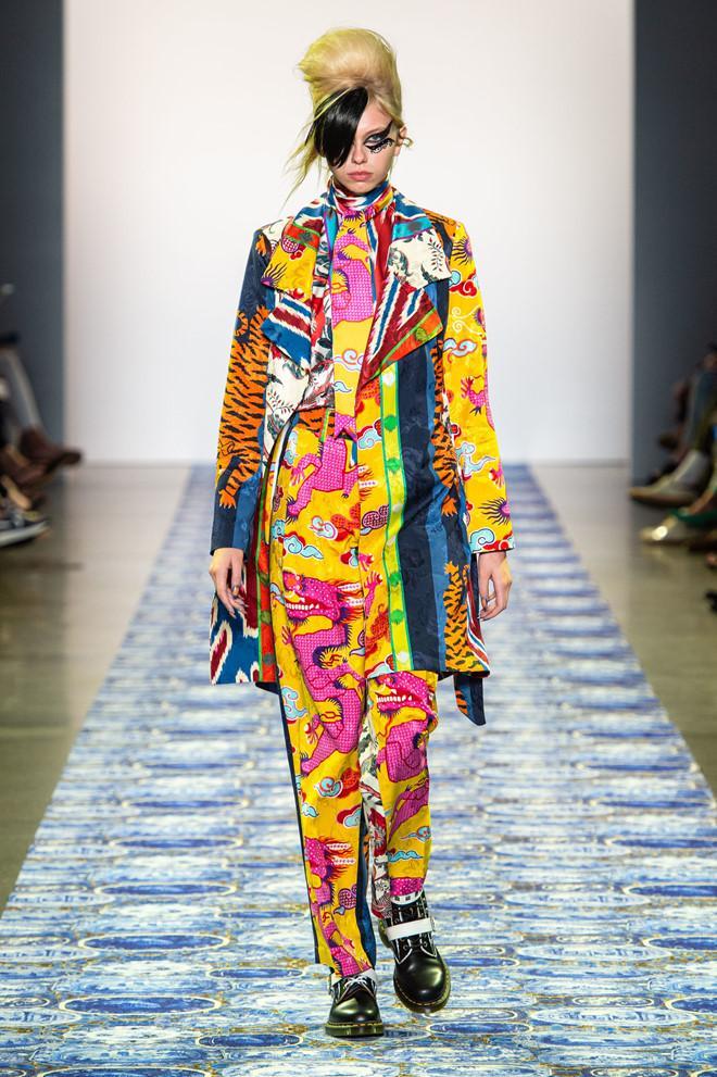 Lady Gaga mặc đồ style Trung Quốc, xuất hiện trên sàn catwalk?-1