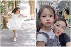 Con gái 4 tuổi của Hà Kiều Anh khiến fan tan chảy vì sở hữu nét 'Hoa hậu' của mẹ