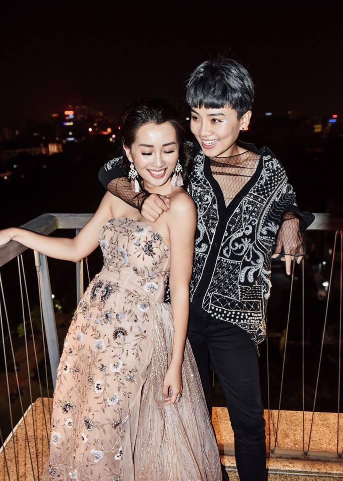 Không chỉ Hoàng Thùy Linh, hoa hậu, MC VTV cũng bị nghi yêu đồng giới-7