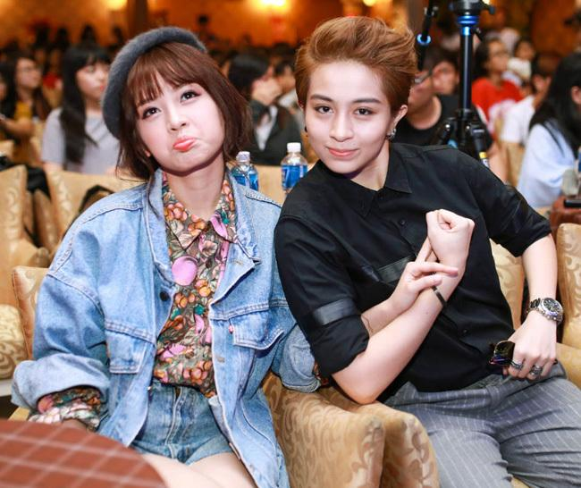 Không chỉ Hoàng Thùy Linh, hoa hậu, MC VTV cũng bị nghi yêu đồng giới-11
