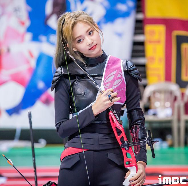 VZN News: Em út TWICE được ví như nữ thần khi bắn cung tại đại hội thể thao-4