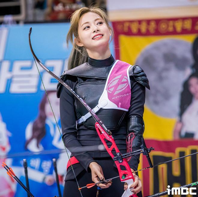 VZN News: Em út TWICE được ví như nữ thần khi bắn cung tại đại hội thể thao-5