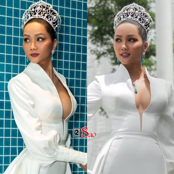 VZN News: Hoa hậu đẹp tự nhiên nhất showbiz Việt HHen Niê bất ngờ vướng nghi án nâng ngực-6