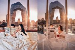 Sống ảo kém gì vợ bé, Minh Nhựa bị soi ảnh du lịch sang chảnh thì ra chỉ là photoshop ghép cảnh?