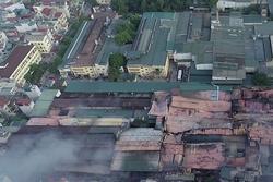 Cháy nhà máy Rạng Đông: Bất ngờ 'phát lộ' việc xin chuyển đổi đất không thành