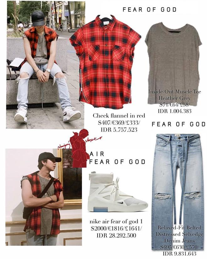 Tủ quần áo trông đơn giản nhưng giá chục nghìn đô của trưởng nhóm BTS-4