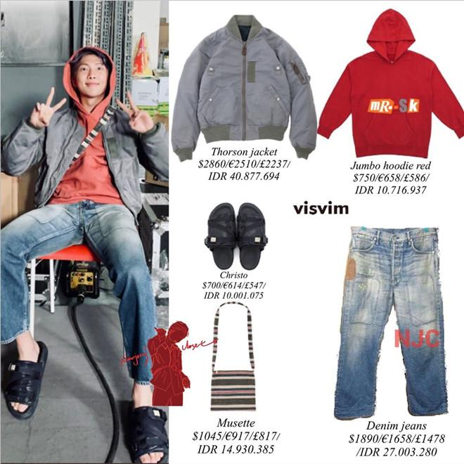 Tủ quần áo trông đơn giản nhưng giá chục nghìn đô của trưởng nhóm BTS-9