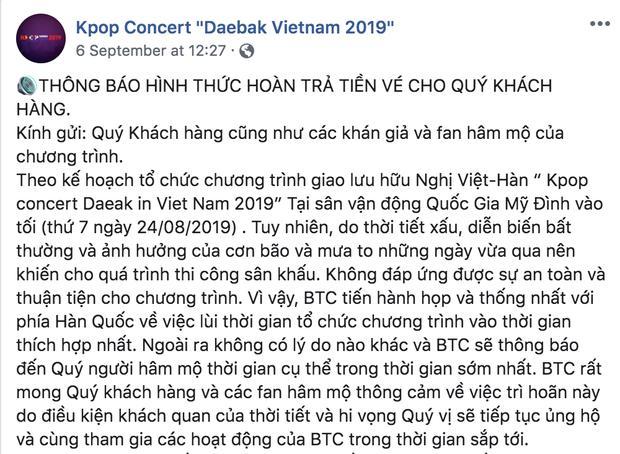 VZN News: BTC show Hàn - Việt có Ji Chang Wook bị nghi lừa đảo khi tuyên bố hủy diễn mà vẫn om tiền vé, và giờ là mất liên lạc luôn-3