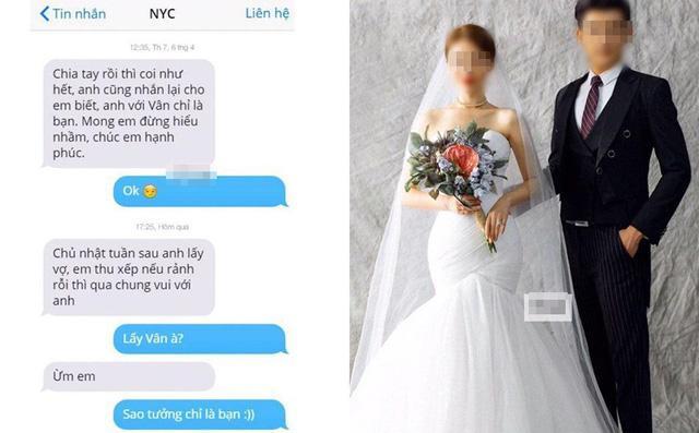 Người yêu cũ mời cưới, cô gái linh cảm chẳng lành vào FB xem thì tá hỏa khi thấy mặt cô dâu-1