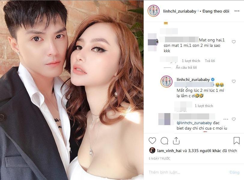 Lâm Vinh Hải vướng nghi án phẫu thuật thẩm mỹ, Linh Chi không ngại ra mặt đáp trả thay chồng-3