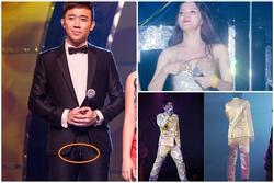 Trấn Thành, Đan Trường rách quần, Ngân Khánh, Hương Giang hở ngực trên sân khấu