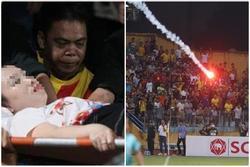 Khởi tố vụ án, triệu tập nhiều CĐV Nam Định điều tra vụ đốt pháo, làm loạn sân Hàng Đẫy