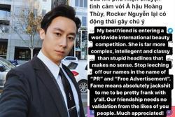 Rocker Nguyễn phản ứng khó chịu trước tin hẹn hò Hoàng Thùy
