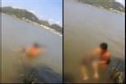Chàng trai nhảy hồ tự tử vì bạn gái đòi chia tay, cái kết không ngờ khiến dân mạng cười nắc nẻ