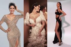 Bản tin Hoa hậu Hoàn vũ 14/9: H'Hen Niê và Hoàng Thùy 'tắt nắng' trước vẻ đẹp quý cô cổ điển