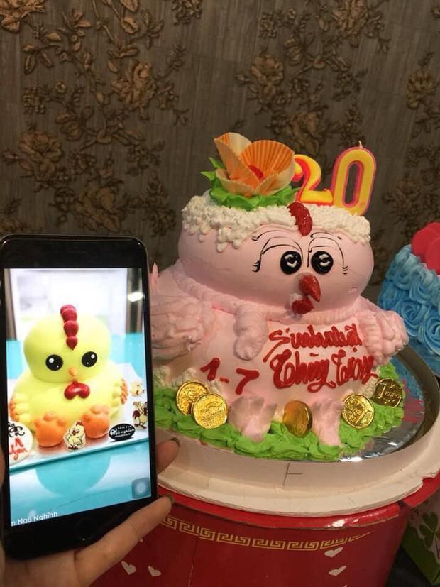 Chiếc bánh sinh nhật khi đặt hết mình, khi nhận hết hồn làm cô gái khóc không thành tiếng-2