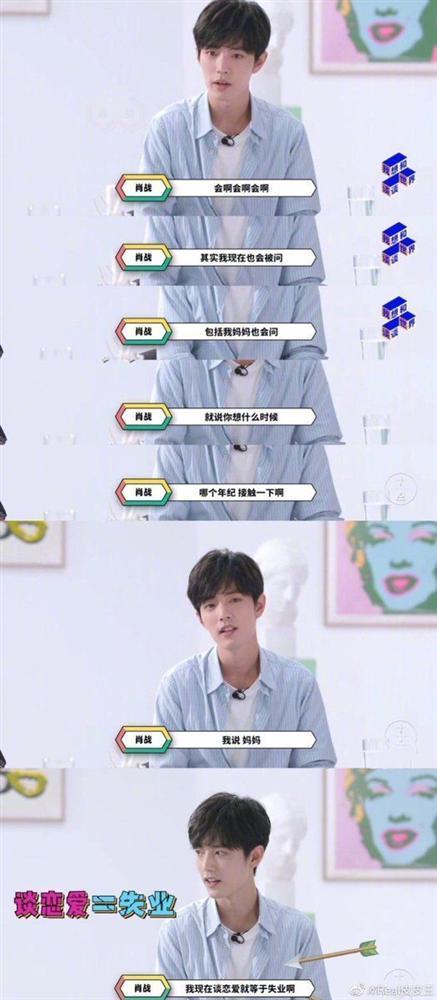 Quan điểm yêu đương quy ra thóc của hotboy Trần Tình Lệnh Tiêu Chiến được khen đáng để idol Kpop học tập-3