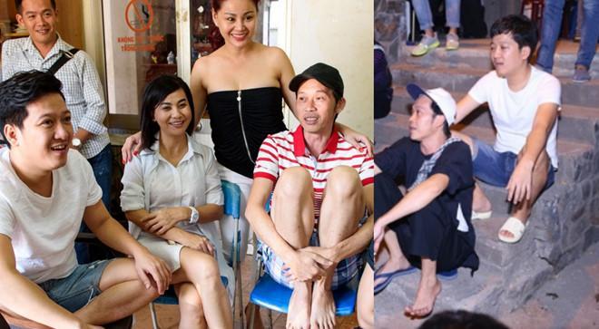 Ảnh bình dị ở hậu trường của Hoài Linh, Trường Giang và nhiều nghệ sĩ-5