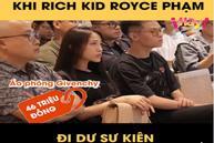 Con gái Minh Nhựa dát gần 200 triệu lên người khi đi dự sự kiện