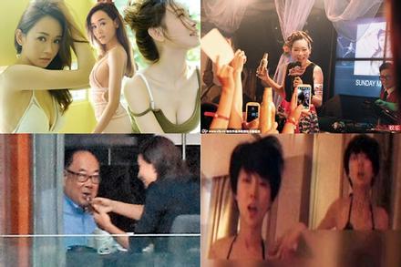 Những hoa hậu, á hậu Hong Kong mất tất cả vì đời tư phóng túng