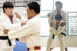 Quá nhập vai vận động viên Judo, Isaac khiến đoàn phim khiếp sợ vì gặp ai cũng muốn vật
