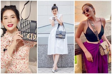 Túi Dior gây thị phi cho Sĩ Thanh được lòng mỹ nhân Việt thế nào?