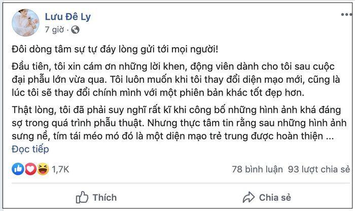 VZN News: Lưu Đê Ly bất ngờ viết tâm thư trải lòng về scandal cướp chồng, hé lộ những bí mật không ngờ-3