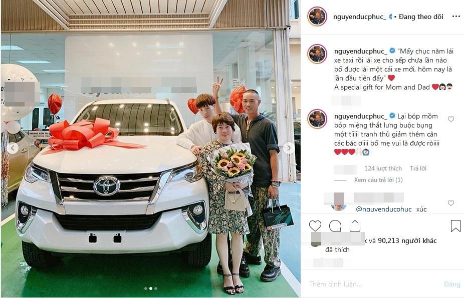 VZN News: Đức Phúc bóp mồm bóp miệng mua xe cho bố, fans cầu xin: Đừng giảm cân nữa anh ơi-6