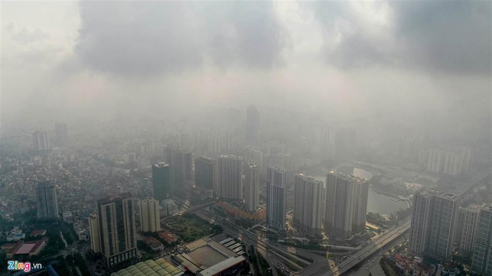 Hà Nội trong báo động đỏ về ô nhiễm không khí-1