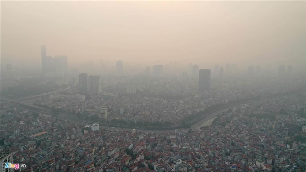 Hà Nội trong báo động đỏ về ô nhiễm không khí-4