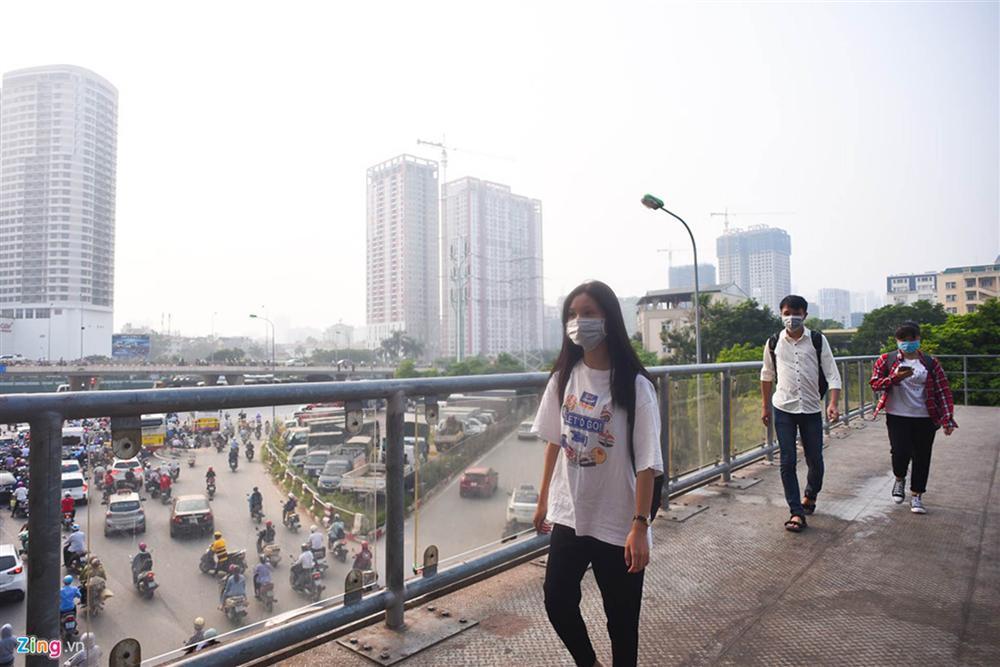 Hà Nội trong báo động đỏ về ô nhiễm không khí-6