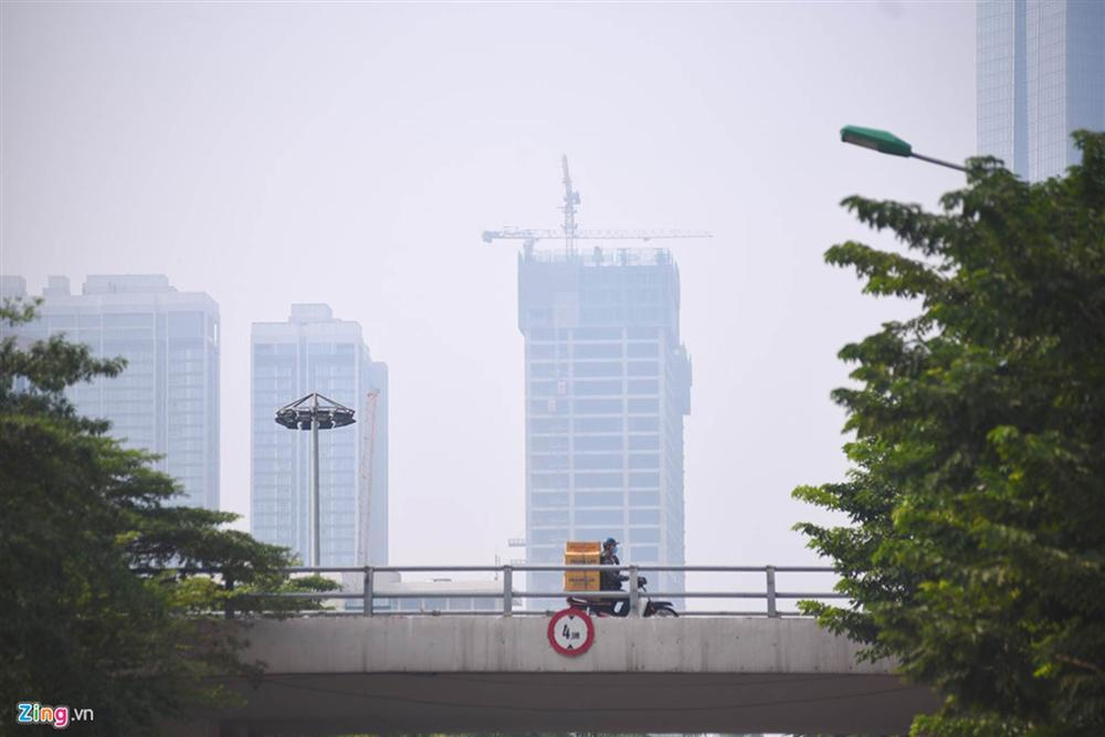 Hà Nội trong báo động đỏ về ô nhiễm không khí-9
