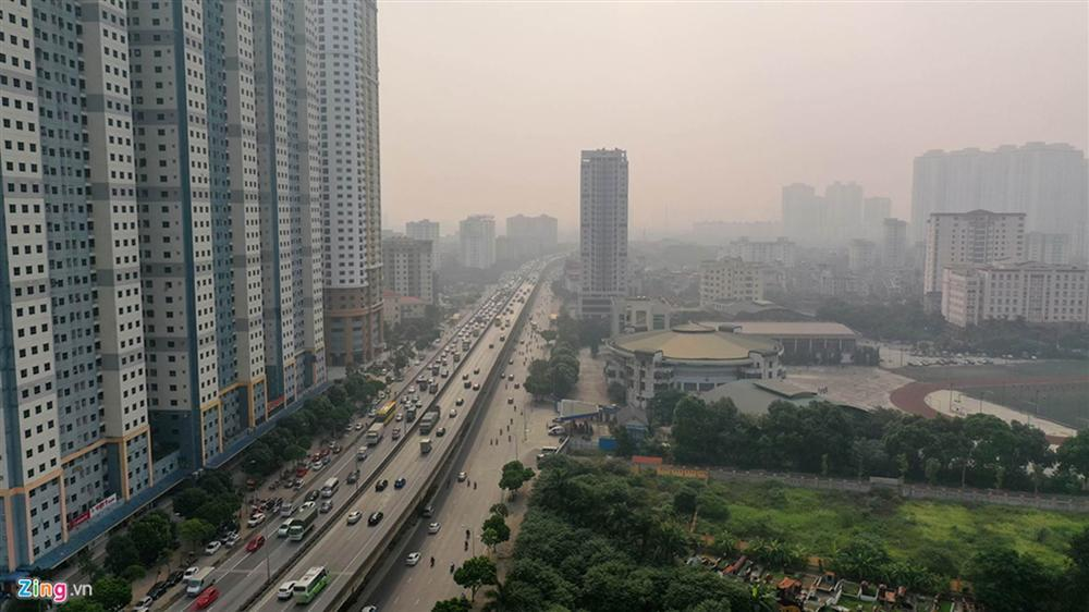 Hà Nội trong báo động đỏ về ô nhiễm không khí-10