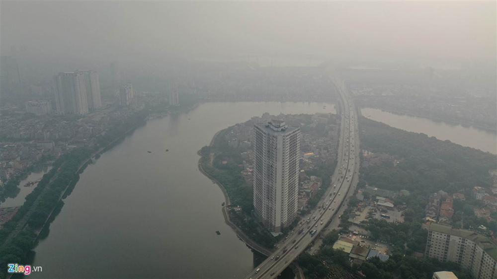Hà Nội trong báo động đỏ về ô nhiễm không khí-11