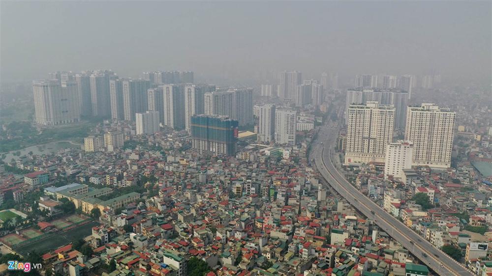 Hà Nội trong báo động đỏ về ô nhiễm không khí-13