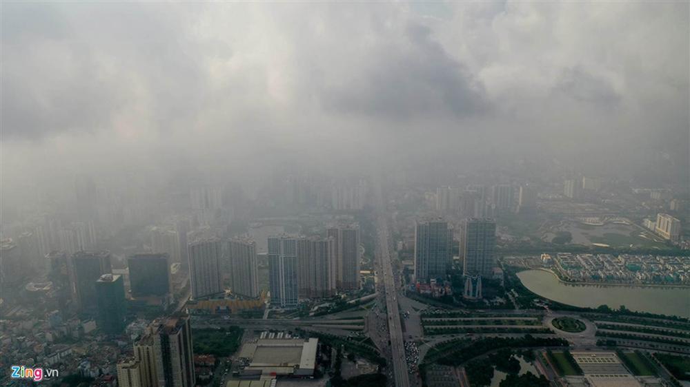 Hà Nội trong báo động đỏ về ô nhiễm không khí-14