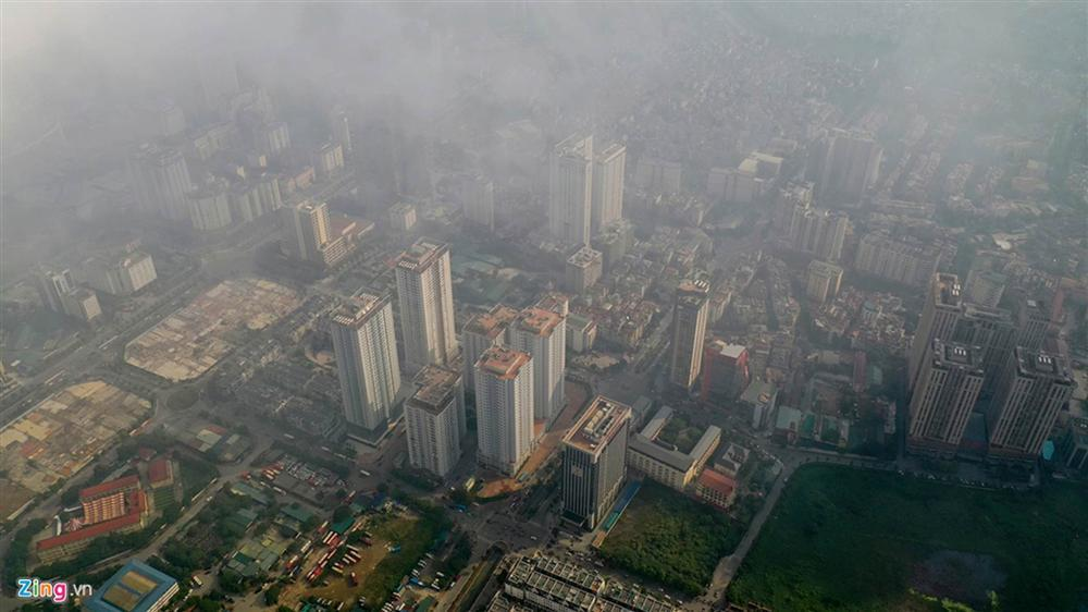 Hà Nội trong báo động đỏ về ô nhiễm không khí-15