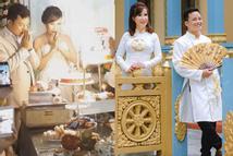 Hé lộ hình ảnh cô dâu 62 ở Cao Bằng trong bữa tiệc rình rang kỉ niệm 1 năm ngày cưới chồng 27 tuổi