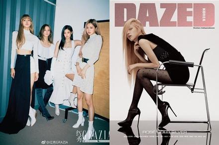 Cả 4 thành viên Black Pink đều đã có bìa tạp chí riêng, fan only hết đường tị nạnh nhau