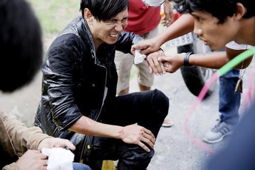 Trương Ngọc Ánh, Lý Hải và những nghệ sĩ gặp tai nạn trên phim trường-2