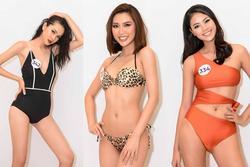 Tường Linh nổi bật với vòng eo 53 tại cuộc thi Hoa hậu Hoàn vũ Việt Nam 2019