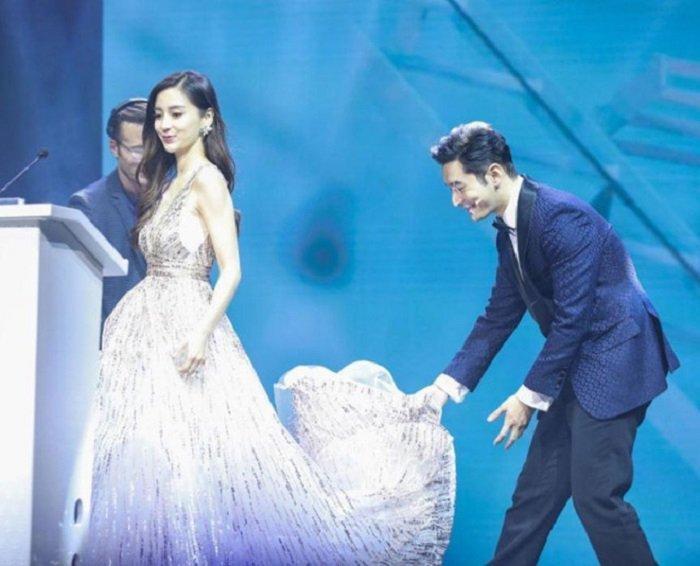 VZN News: Lời nói và hành động đập nhau chan chát của Huỳnh Hiểu Minh - Angela Baby giữa tin đồn ly hôn-3