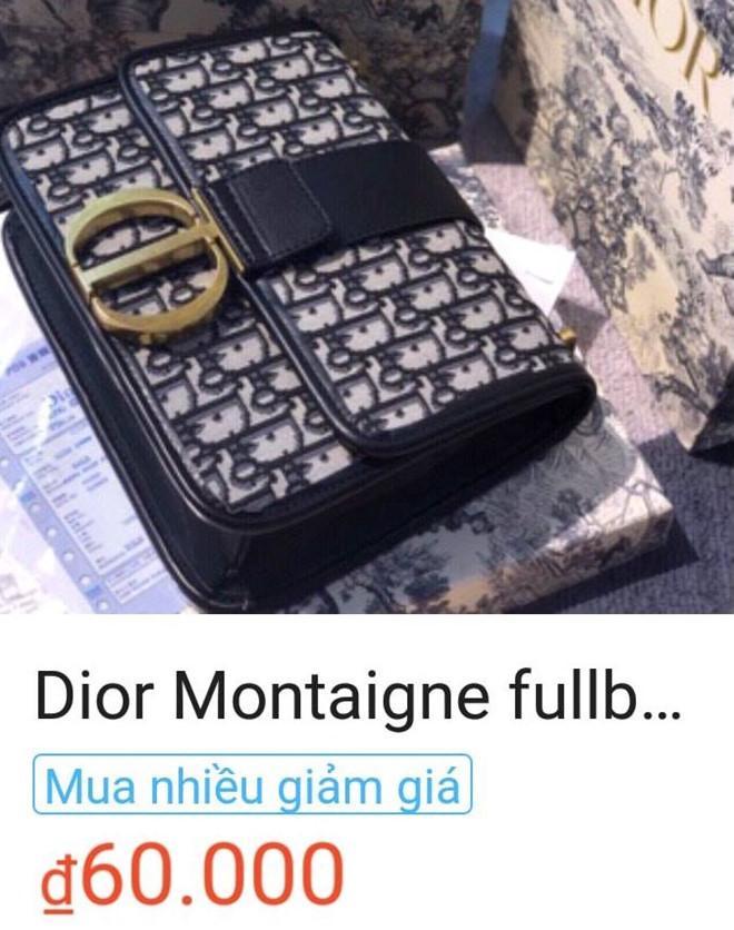 Các shop online thi nhau bán túi Dior 400.000 đồng giống của Sĩ Thanh-2