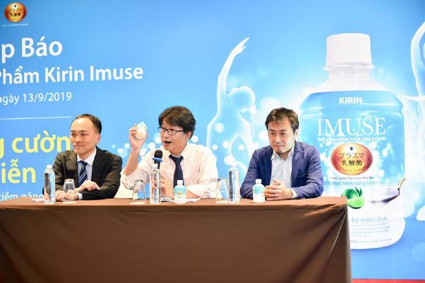 Kirin iMuse - thức uống lợi khuẩn vị sữa chua và chanh-1