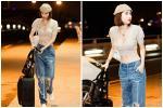 Đẳng cấp khoe thân kiểu mới của Ngọc Trinh: Mặc nội y đi shopping tiền tỷ giữa phố Tây-10