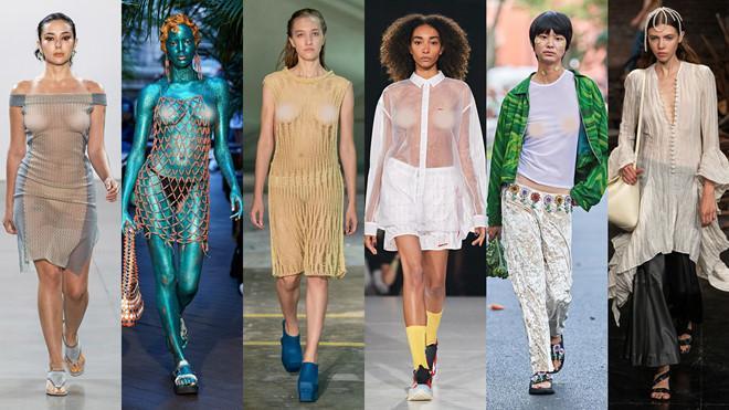 VZN News: Bella Hadid mặc áo lưới lộ toàn bộ ngực, ủng hộ trào lưu thả rông-3