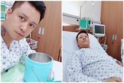 Tuấn Hưng nhập viện, tiết lộ bị hở van tim